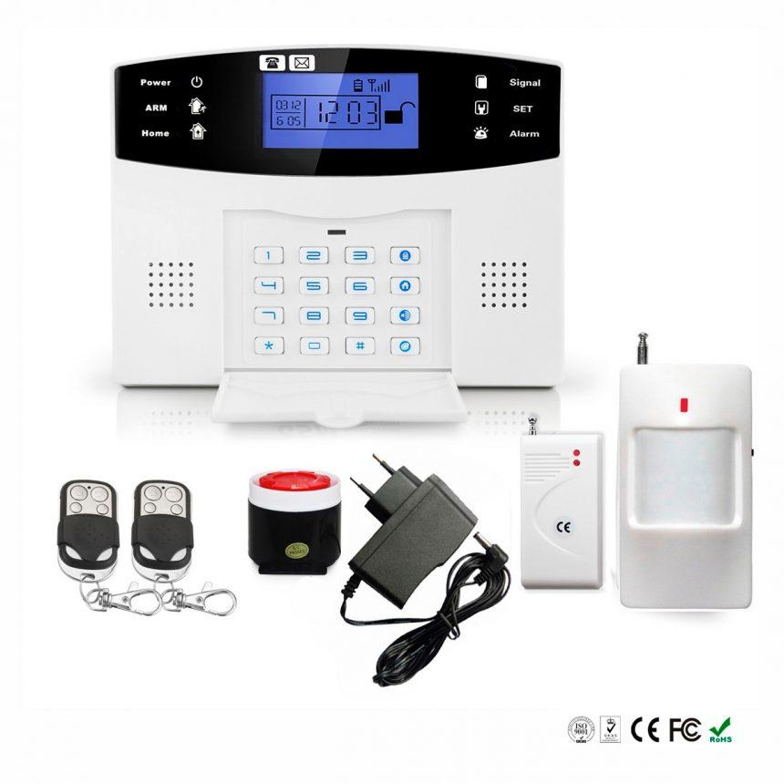¿Cómo funcionan las alarmas GSM?