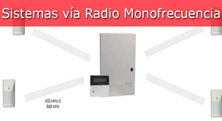 ¿Son fiables los sistemas vía radio MONOFRECUENCIA?